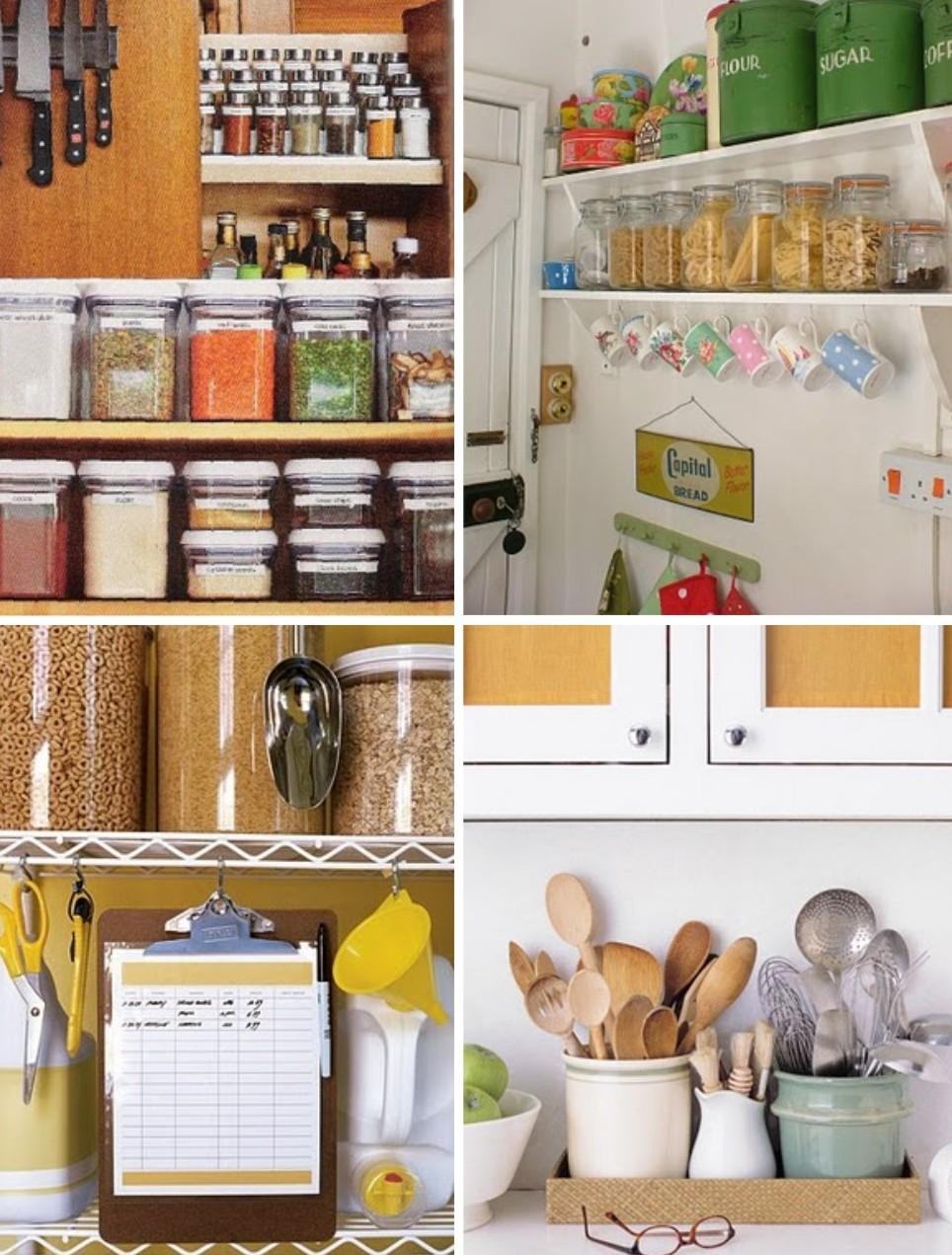 Dificuldades com a organiza o da cozinha saiba o que - Cestas para armarios ...
