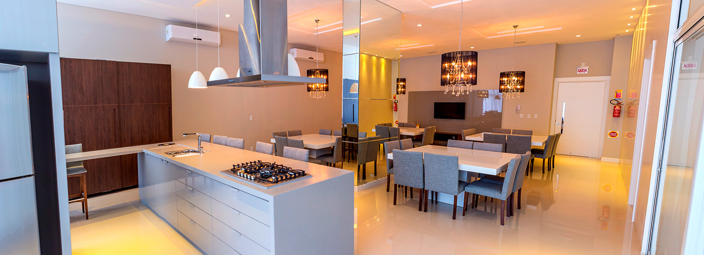 Espa o gourmet uma tend ncia nos apartamentos modernos for Modelos apartamentos modernos