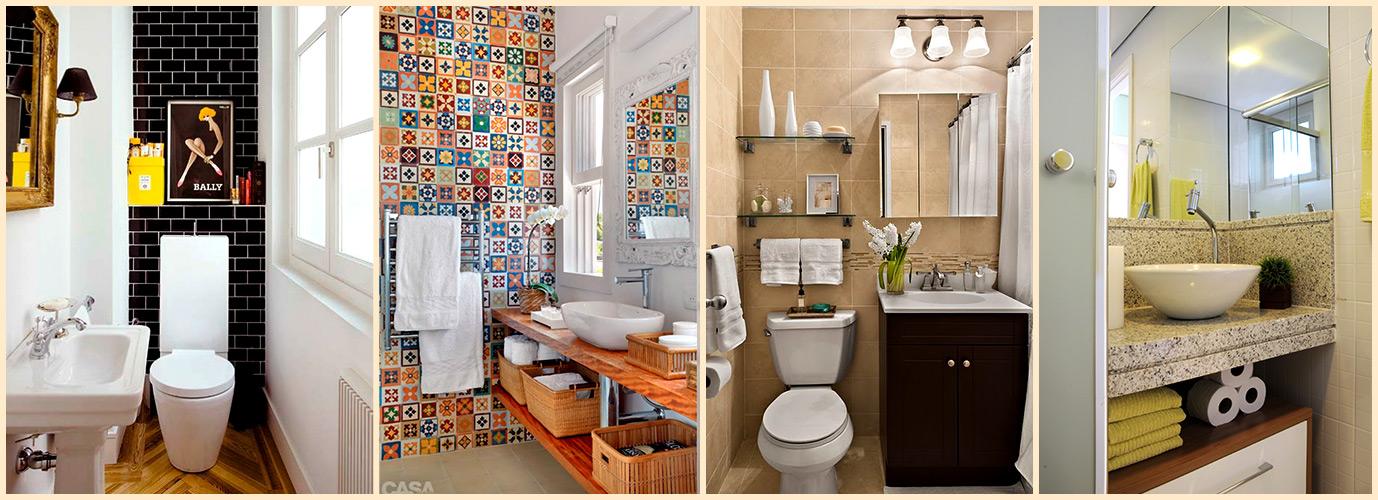 Dicas de organização e decoração para banheiros pequenos  Pro -> Decoracao De Ambientes Pequenos Banheiro