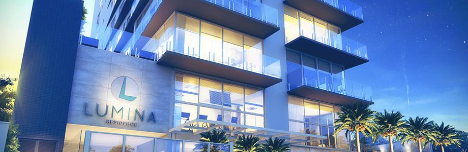 Apartamentos mais confortáveis Lumina Residence