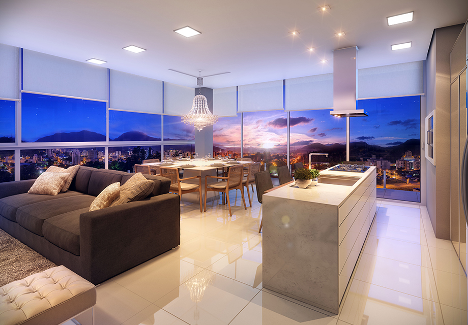 Conforto térmico dos vidros do Lumina Residence