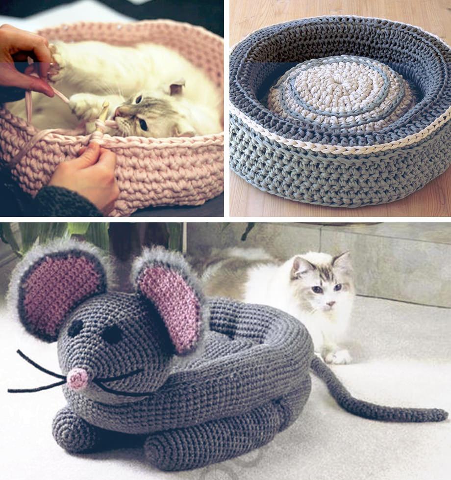 Camas e objetos para alegrar gatos e cachorros proma for Cama para gatos