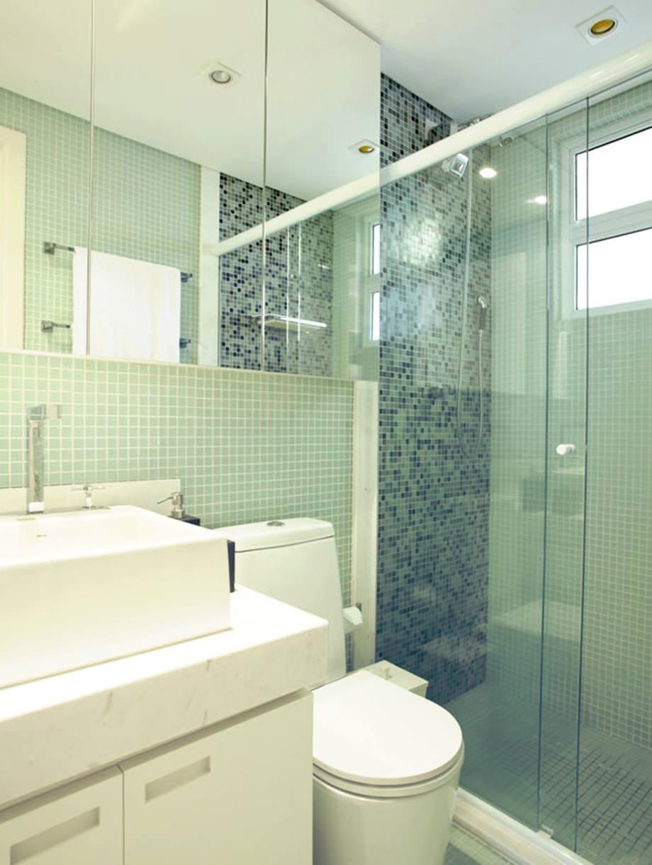 Reforma inteligente dicas para aproveitar um apartamento pequeno  Proma -> Banheiro Pequeno Metragem