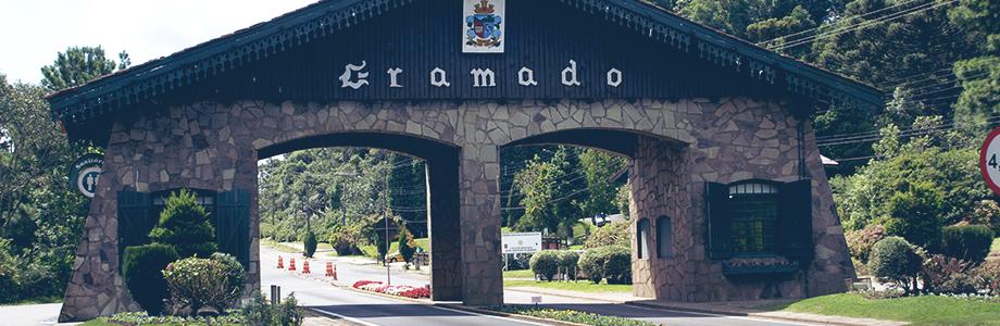 Arco de entrada da cidade de Gramado