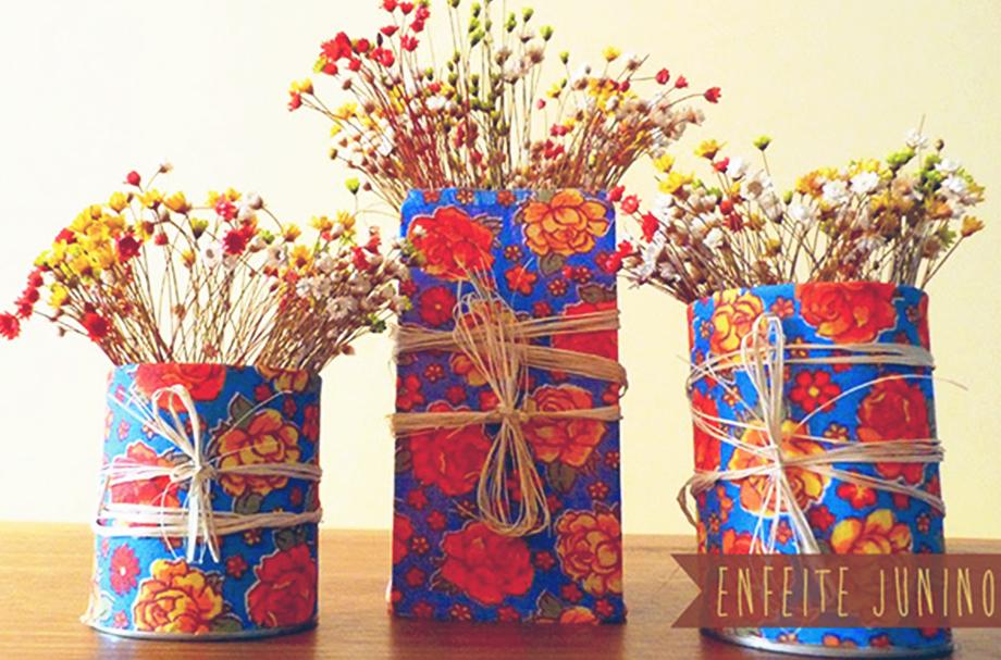 Faça você mesmo  10 ideias de decoração para Festa Julina  5afbf1722c6