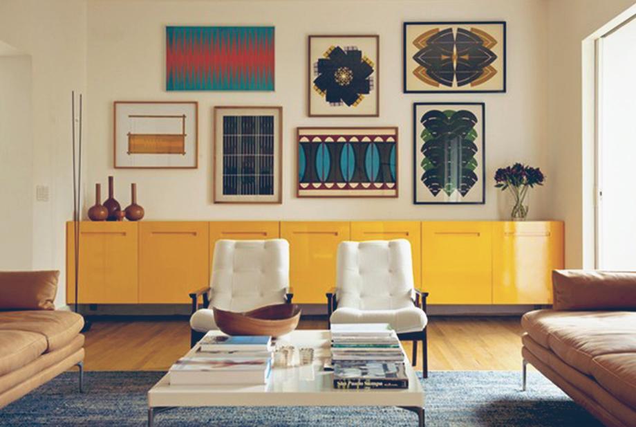 Artesanato Açores ~ Inspiraç u00e3o o poder de um móvel colorido em 13 ambientes Proma