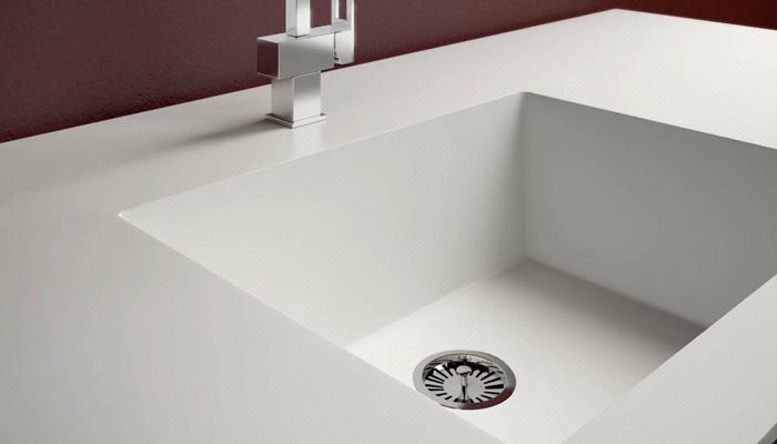 Corian Kitchen Sink  X  X